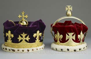 Crowns of Frederick and George, Princes of Wales