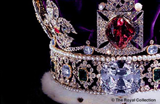 Crown jewels at the Tower of London