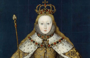 Elizabeth I. Image: National Portrait Gallery, London