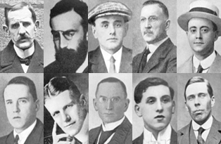 Photographs of the spies executed at the Tower