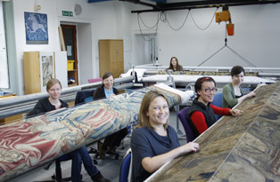 The tapestry conservation team