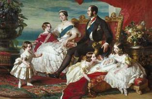 Queen Victoria and family (c The Royal Collection)
