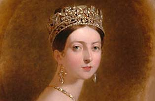 A portrait of young Queen Victoria (Sully)